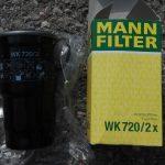 filtre gasoil Mann filter WK270/2x